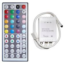 led color changing light strips key color changing mood strip remote and controller