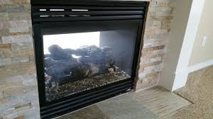 nice gas fireplace ideas with amusing white stone element design