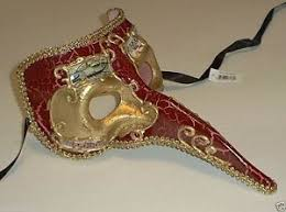 venetian bird mask antique nose bird mardi gras masquerade venetian mask