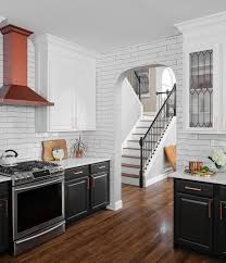 painting my oak kitchen cabinets white should i paint my cabinets two different colors paper