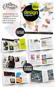 design magazine indesign template by depautamadre graphicriver