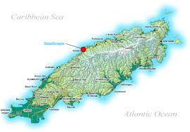 where is and tobago located on the world map seascape tobago our location