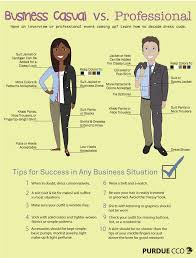 business casual dress to impress business casual vs professional purdue cco