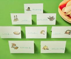 place cards free thanksgiving placecards stickers more for kids