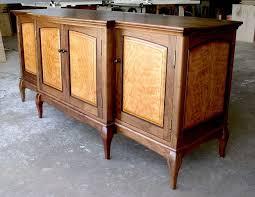 figured cherry u0026 walnut sideboard finewoodworking