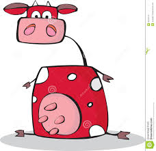 funny cartoon cow stock images image 20720474