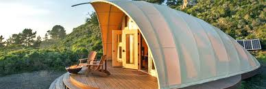 luxury off grid autonomous tents can pop up almost anywhere in the