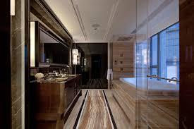 marble earthy bathroom with tun steve leung interior design ideas