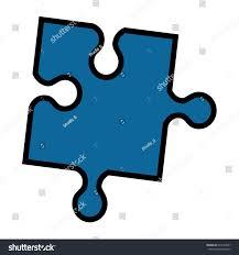 free puzzle piece template puzzle piece symbol stock vector 634154327 shutterstock puzzle piece symbol