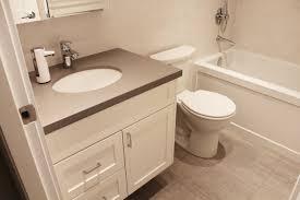 new bathroom renovation project davie condo vancouver