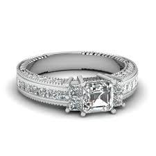 asscher cut diamond engagement rings launching asscher cut vintage engagement rings fascinating diamonds