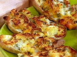 Buffet Potatoes Recipe by Double Stuffed Potatoes With The Works Recipe Rachael Ray Food