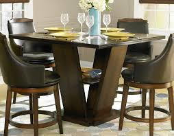 homelegance bayshore counter height dining table 5447 36