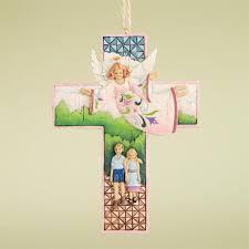 guardian cross jim shore heartwood creek ornament
