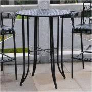 Pub Height Patio Table Bar Height Patio Tables Walmart