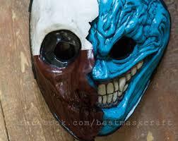 payday wolf mask etsy