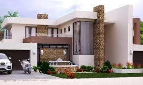 modern style home plans modern style house plan bedroom storey floor plans home
