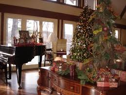 christmas livingroom december living room christmas decoration for you house and green
