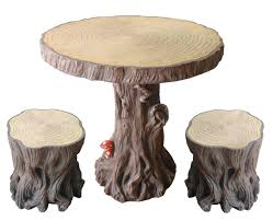 Tree Trunk Table Considerable Things For Stump Table Home Furniture And Decor