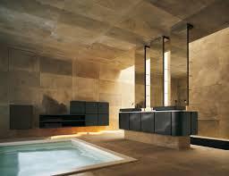 bathroom luxury bathroom design with white bathtub and wall