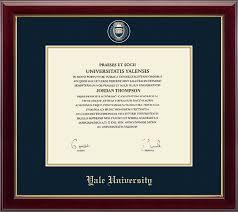 frames for diplomas yale diploma frames church hill classics