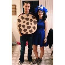 couples cookie monster costume happy halloween tis the season