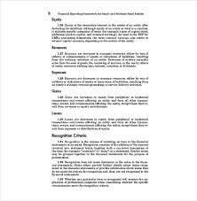 company report format template 20 financial report templates free sle exle format