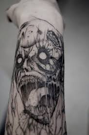 scary army skull tattoo design photos pictures and sketches