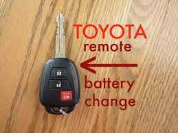 toyota car and remotes how to toyota key fob remote keyless battery change replace