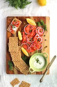 thanksgiving 2014 appetizers smoked salmon platter