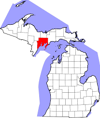 Michigan Brewery Map by National Register Of Historic Places Listings In Delta County