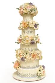 wedding cake lavender lavender ruffle wedding cake wedding cakes
