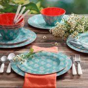 Nautical Themed Dinnerware Sets - melamine dinnerware sets