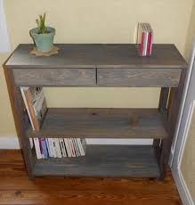 Hall Table Plans Amazing Homemade End Tables House Plans Ideas