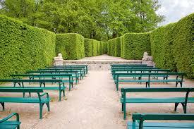 Summer Garden Theatre - summer theatre in mirabell garden stock images image 25180074