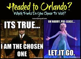 Universal Memes - between universal and walt disney world