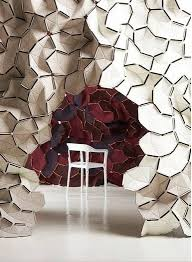 Clouds Designer Fabric Wall Tiles From Kvadrat  The Bouroullec - Fabric wall designs