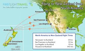 Air New Zealand Route Map by Tips U0026 Advice On Getting To New Zealand First Light Travel