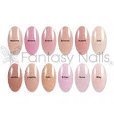 famous collection acrylic color powder with shimmer