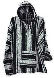 baja sweater baja surf poncho vintage 90s hoodie sweater unisex