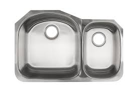 Kindred KSDCRU Undermount Double Bowl Stainless Steel Kitchen - Metal kitchen sink