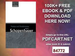 Counsels And Maxims By Arthur Schopenhauer Pdf Parerga And Paralipomena Philosophical Essays Volume One