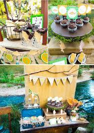 Fishing Themed Baby Shower - kara u0027s party ideas gone fishing boy themed party planning ideas