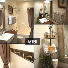 rustic bathroom reveal tumbleweed
