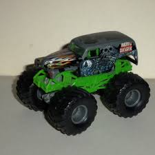 monster jam grave digger truck wheels monster jam grave digger 1 64 diecast truck fair loose used