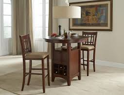pub table and chairs with storage intercon mission casuals oval dining table with storage pedestal