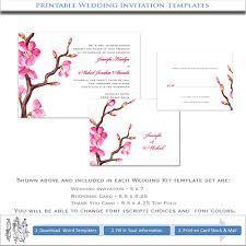 Asian Wedding Invitation Asian Wedding Invitation Templates Printable Diy Wedding Kits