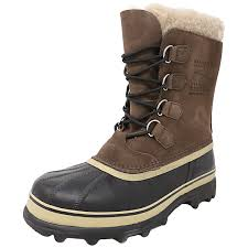 s caribou boots canada sorel s caribou ankle high leather boot ebay