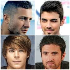 list of boys hairstyles stunning different types of hairstyles for men ideas style and