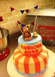 curious george cake topper curious george cake turns 2 sweet smorgasbord